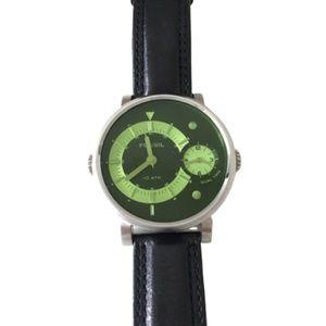 Fossil FS4339 Arkitekt Dual Time Watch w/ Leather